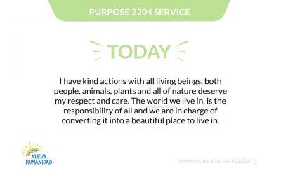 Purpose 2205 Responsibility