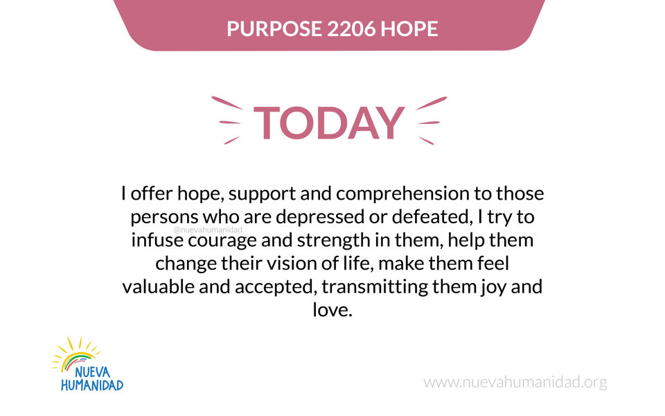 Purpose 2206 Hope