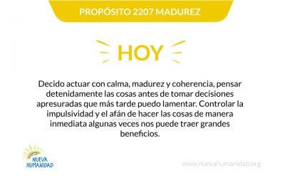 Propósito 2207 Madurez