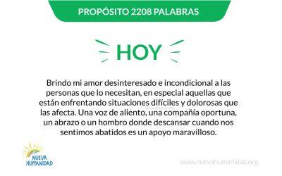 Propósito 2209 Compañía
