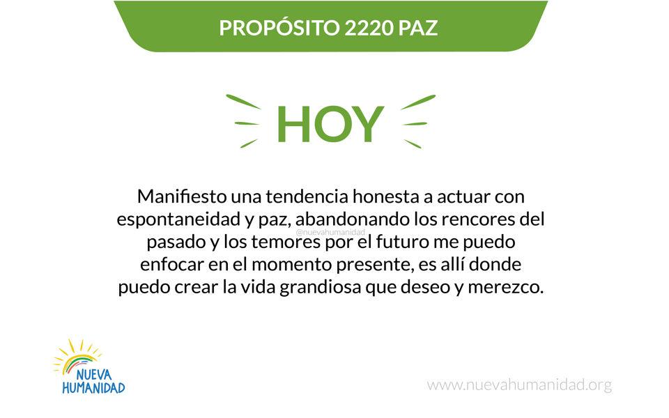 Propósito 2220 Paz