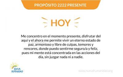 Propósito 2222 Presente