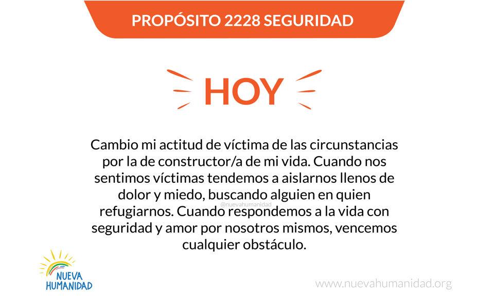 Propósito 2228 Seguridad