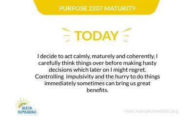 Purpose 2207 Maturity