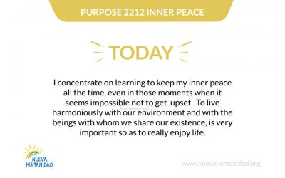 Purpose 2212 Inner peace