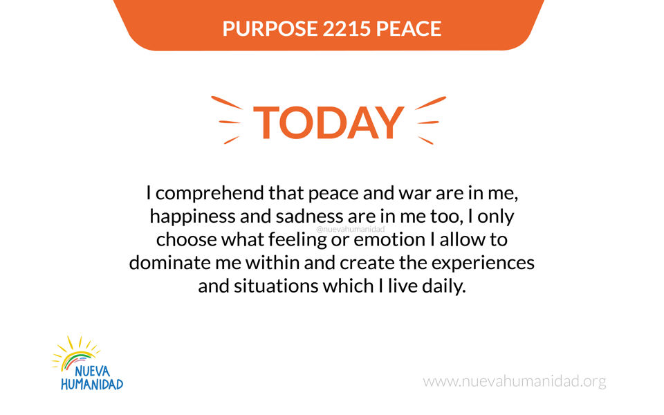 Purpose 2215 Peace