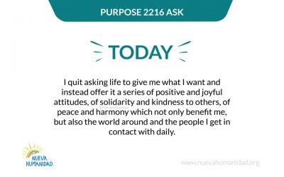 Purpose 2216 Ask