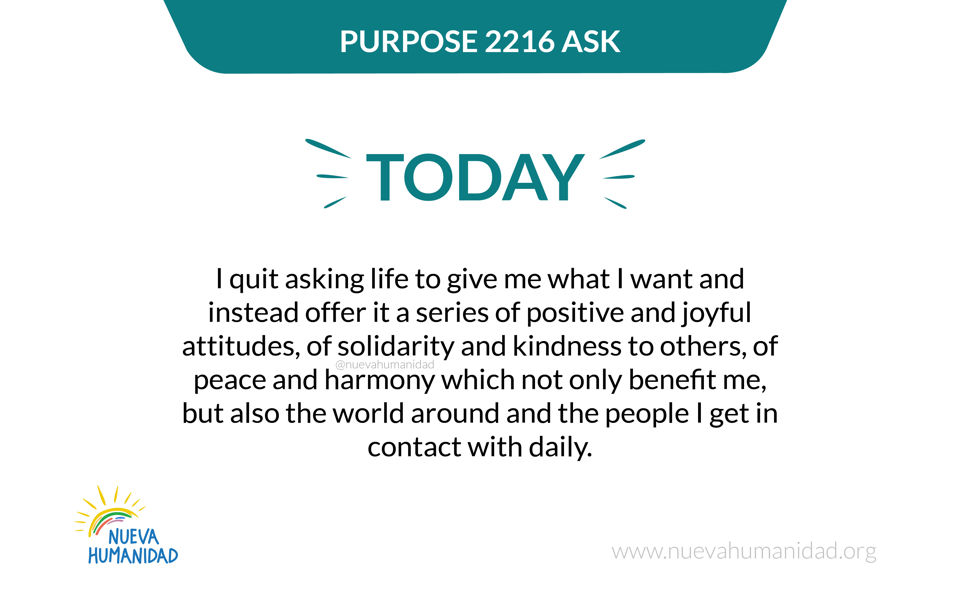 Purpose 2216 Ask