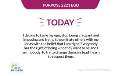 Purpose 2221 Ego