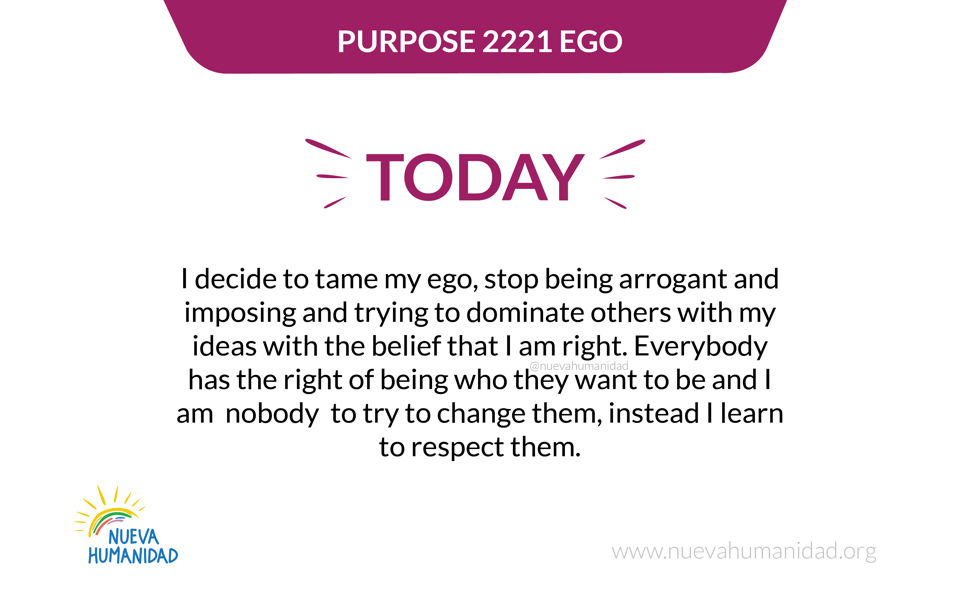 Purpose 2221 Ego