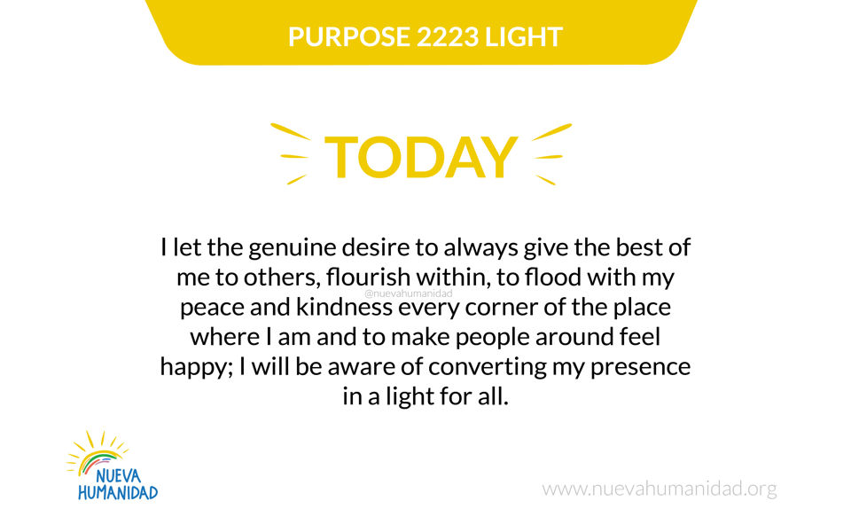 Purpose 2223 Light