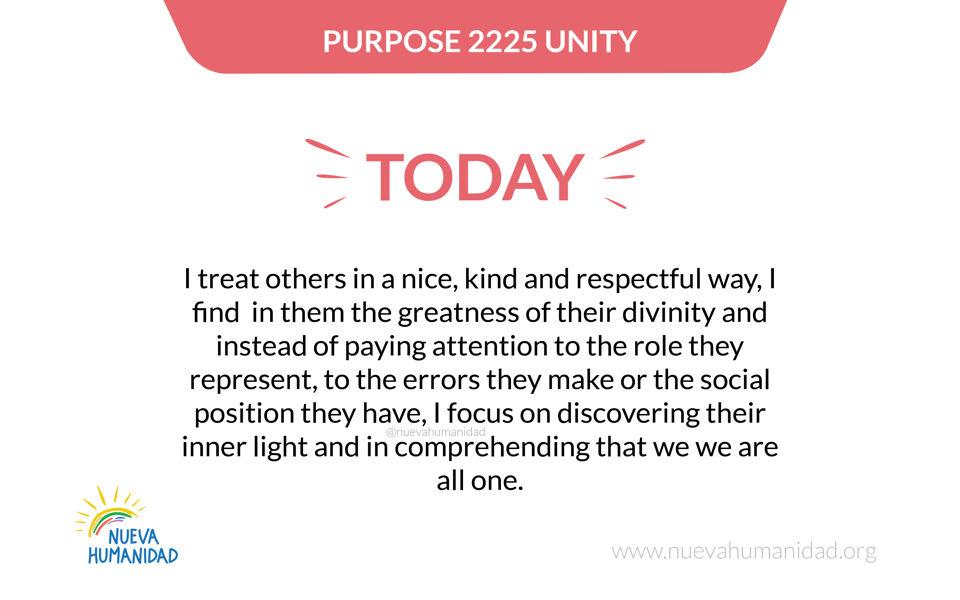 Purpose 2225 Unity