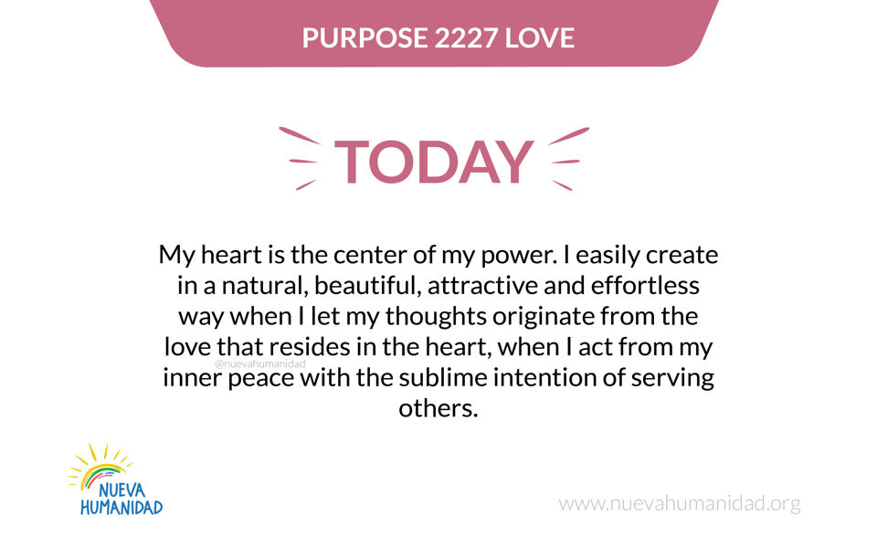 Purpose 2227 Love