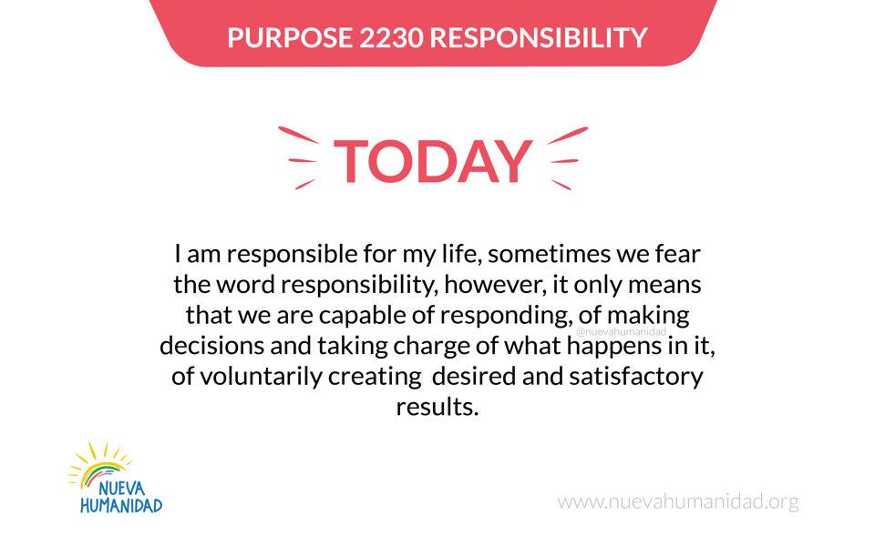 Purpose 2230 Responsibility