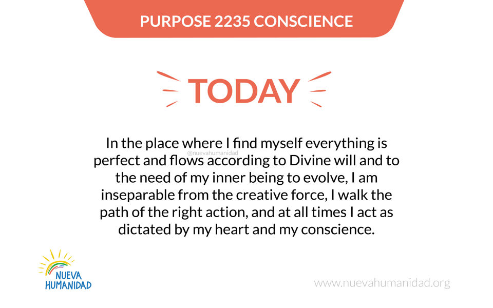 Purpose 2235 Conscience
