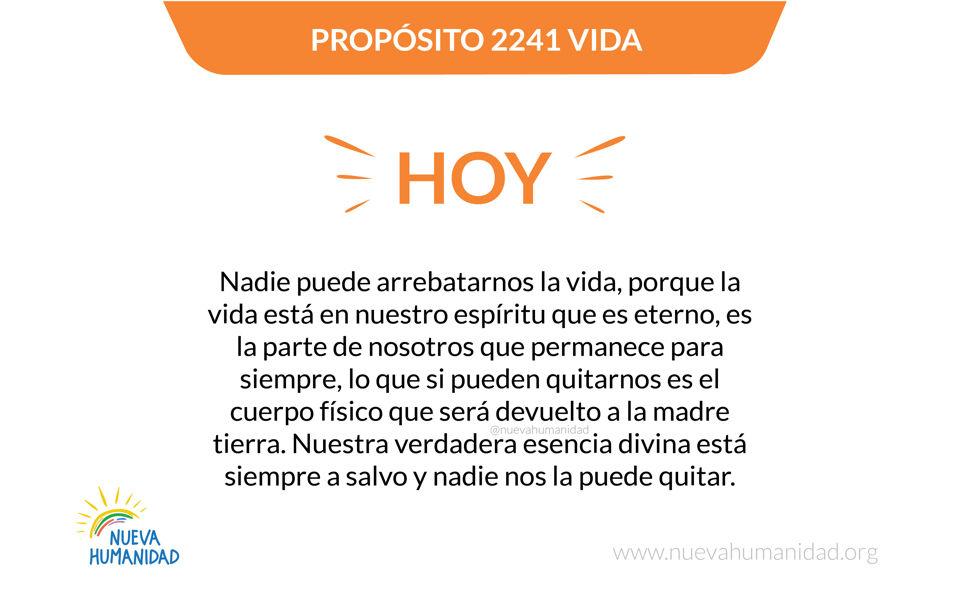 Propósito 2241 Vida
