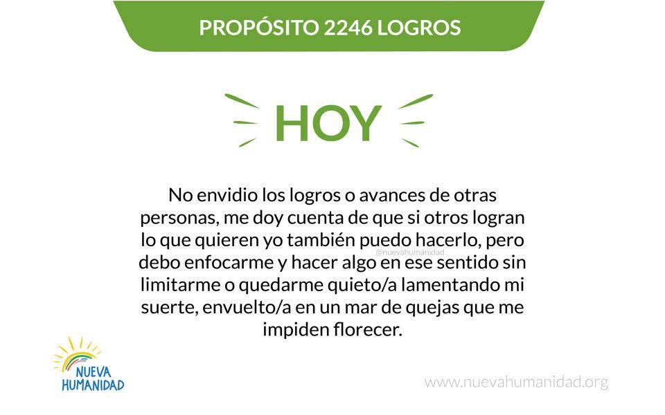 Propósito 2246 Logros