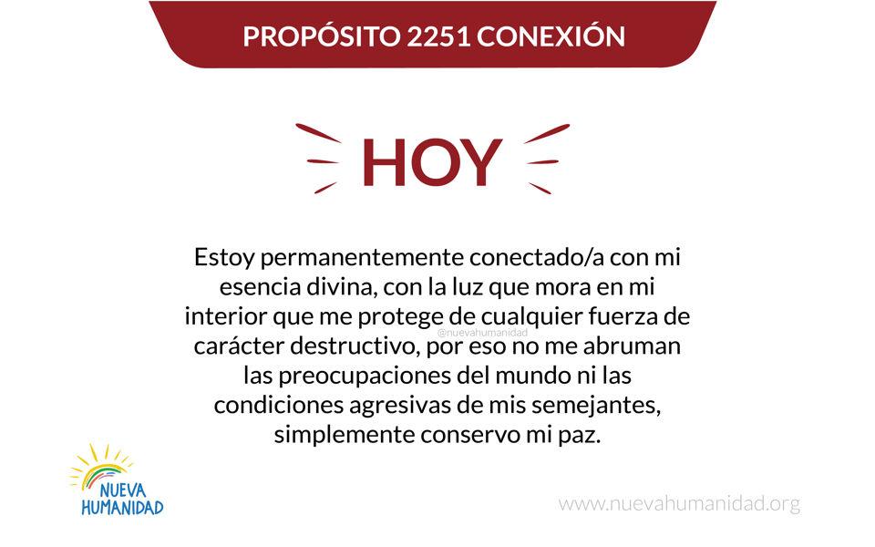 Propósito 2251 Conexión