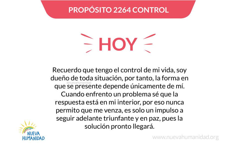 Propósito 2264 Control