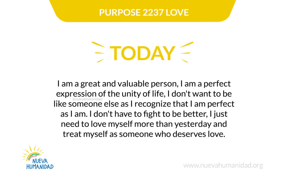 Purpose 2237 Love