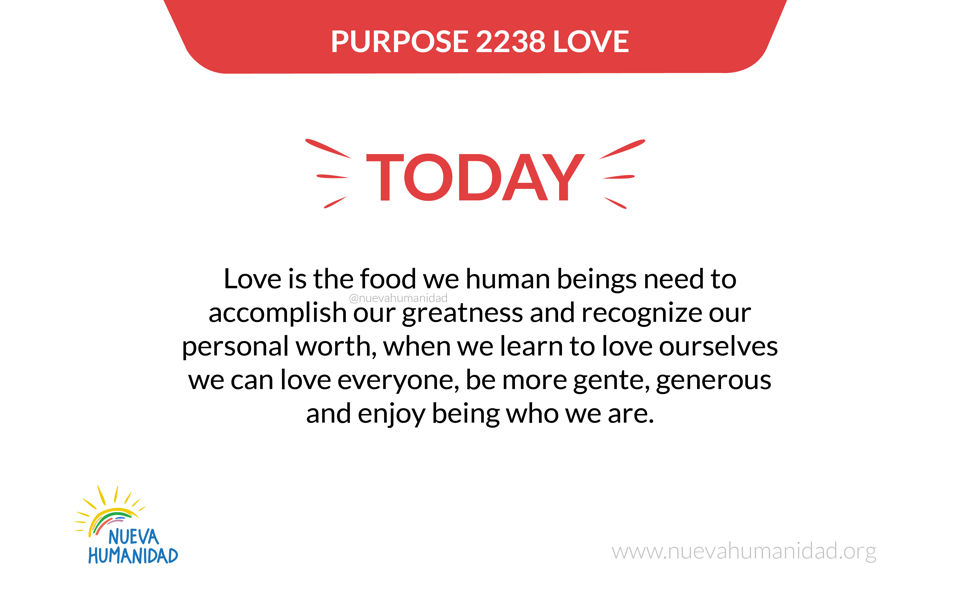 Purpose 2238 Love