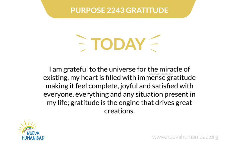 Purpose 2243 Gratitude