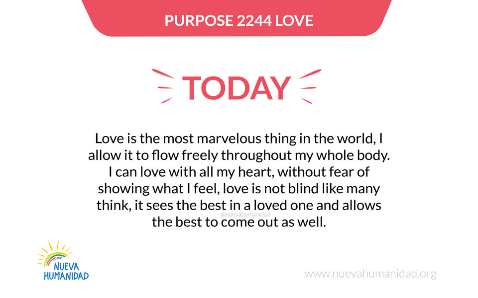 Purpose 2244 Love