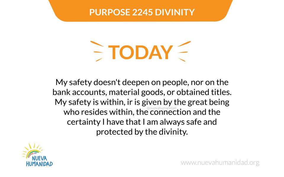 Purpose 2245 Divinity