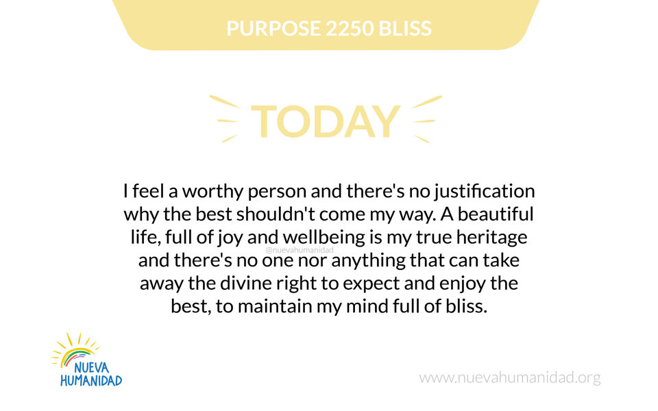 Purpose 2250 Bliss