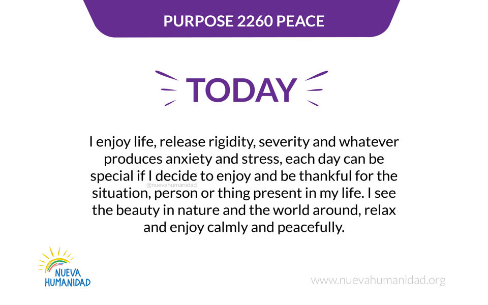 Purpose 2260 Peace