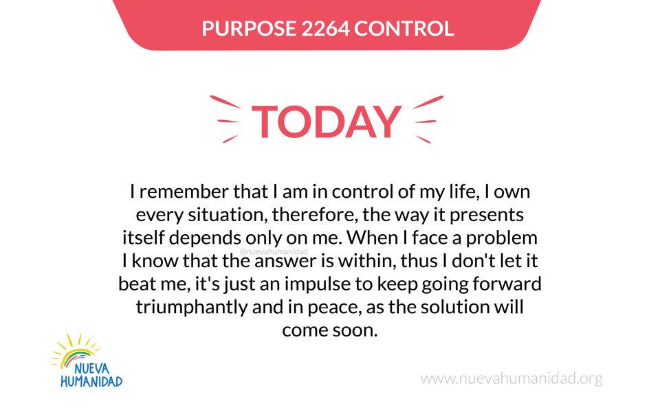 Purpose 2264 Control