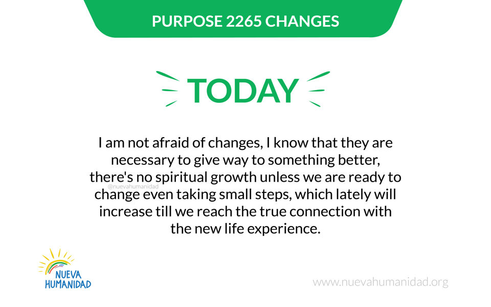 Purpose 2265 Changes