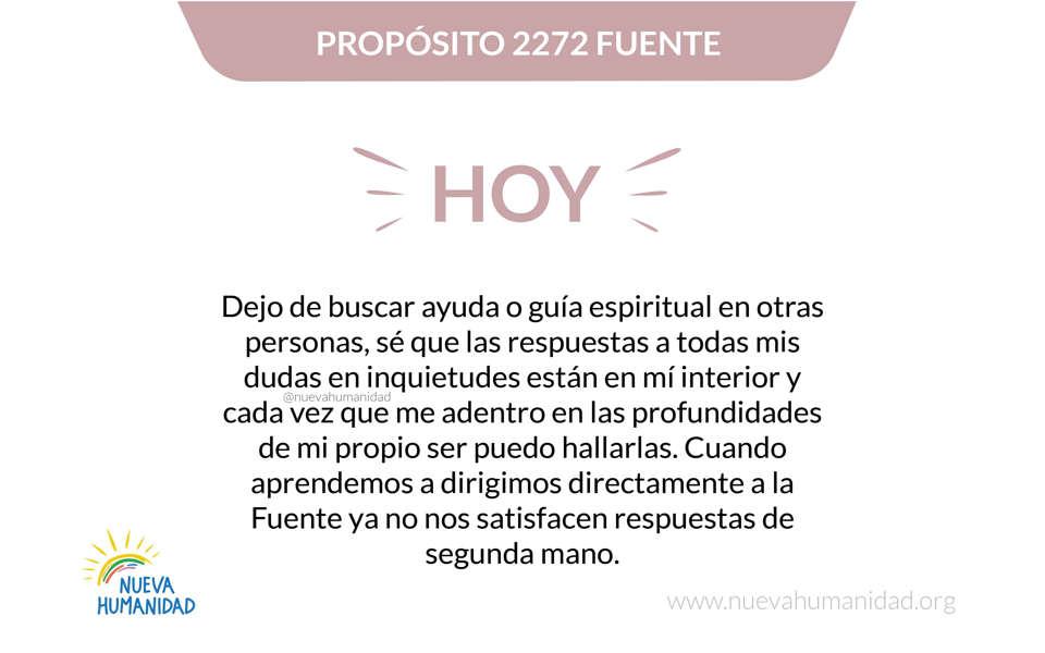 Propósito 2272 Fuente
