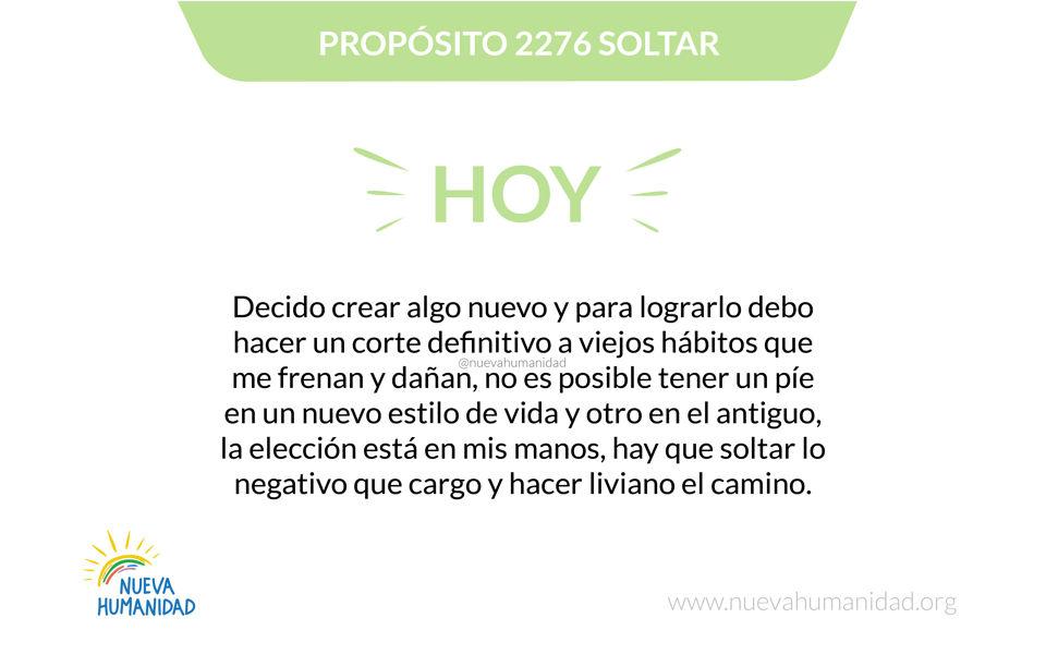 Propósito 2276 Soltar