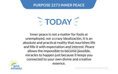 Purpose 2273 Inner peace