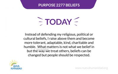 Purpose 2277 Beliefs