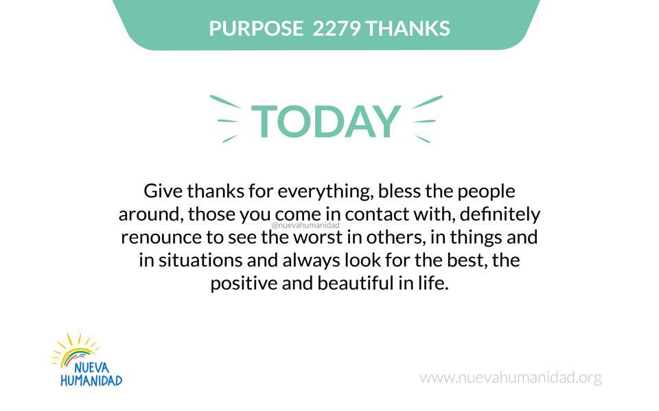Purpose 2279 Thanks
