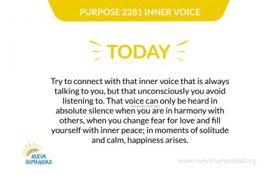 Purpose 2281 Inner voice