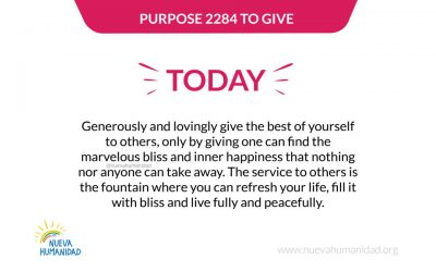Purpose 2284 To give