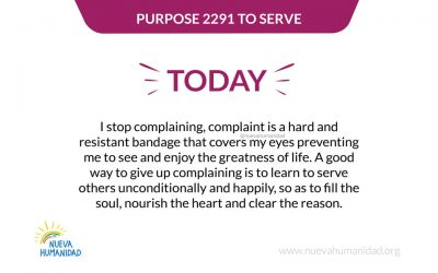 Purpose 2291 To serve