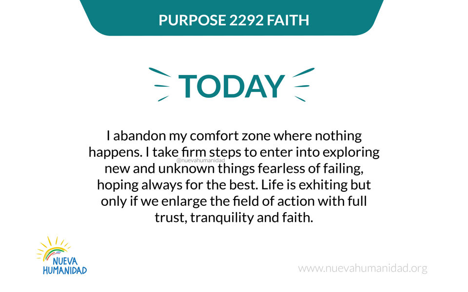 Purpose 2292 Faith