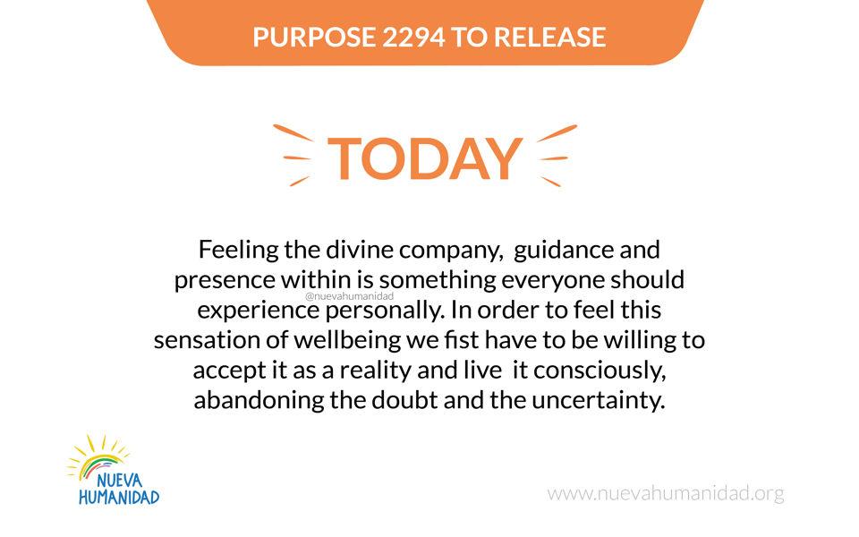 Purpose 2294 To release