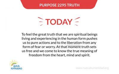 Purpose 2295 Truth