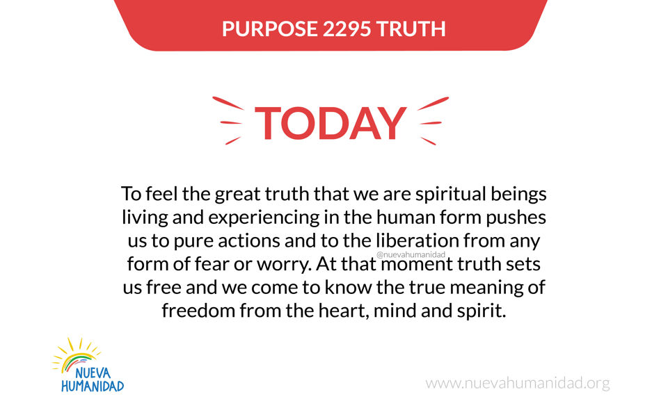 Purpose 2295 Truth