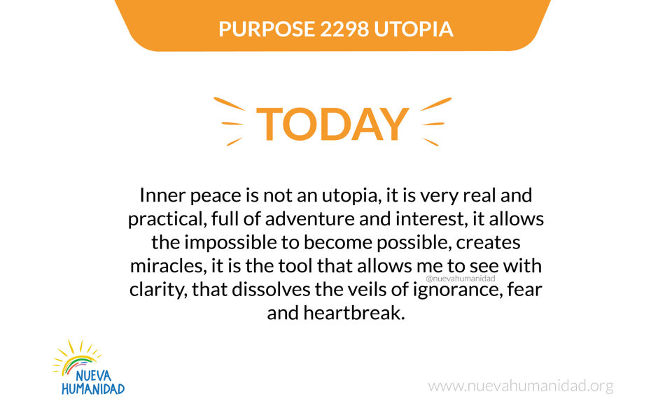 Purpose 2298 Utopia