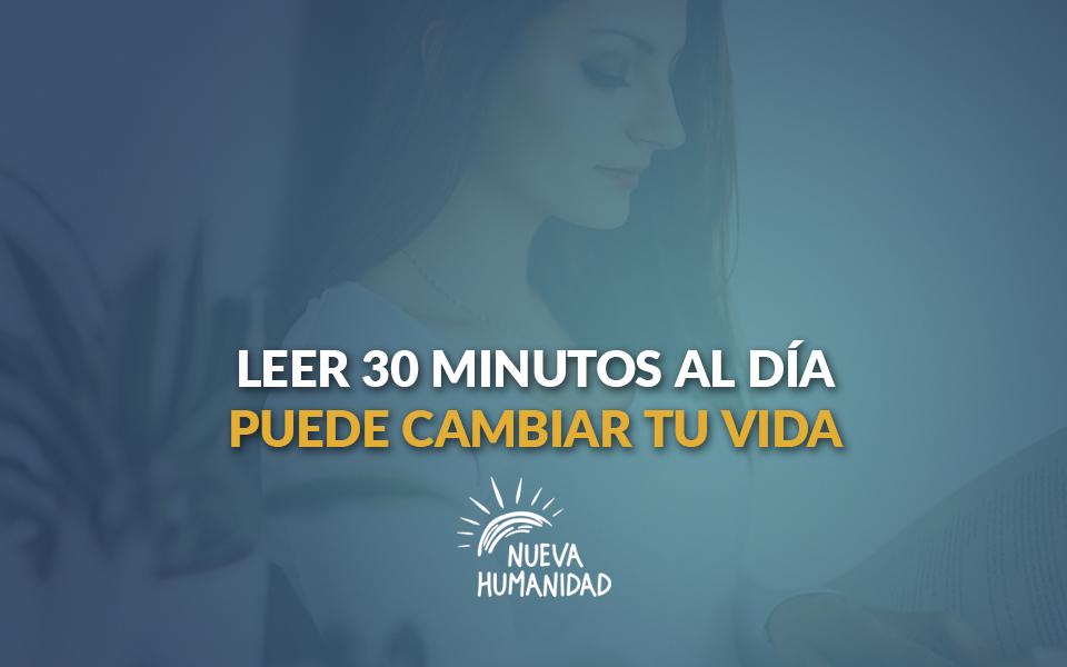 Leer 30 minutos al día puede cambiar tu vida