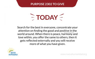 Purpose 2302 To give