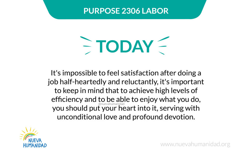 Purpose 2306 Labor