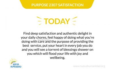 Purpose 2307 Satisfaction