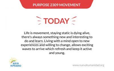 Purpose 2309 Movement